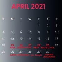 Animal Wildlife Calendar 2021